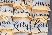 Wedding Party Gifts / Personalized gift ideas for your best man, groomsmen, maid or matron of honor, bridesmaids, ring bearer and flower girl.