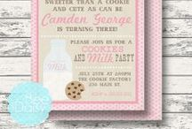Cookies and Milk Party / by Bee and Daisy Party Studio
