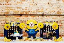 Despicable Me - Minion Inspired Party / Inspiration for our adorable Minion inspired theme.  This play date party was featured on Kara's Party Ideas!   / by Bee and Daisy Party Studio
