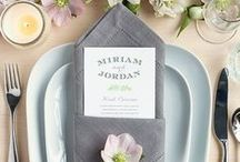 Wedding Place Settings / Find the perfect wedding place settings and ideas to welcome your guests into your reception