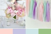 Wedding Colors - Purple and Pink / A collection of purple and pink wedding color schemes and ideas to give you inspiration for planning your perfect wedding.