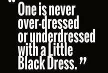 LBD / Dresses, black