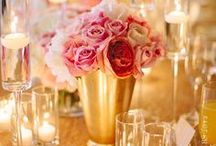 Gold Wedding / Add sparkle and shine to your wedding with these ideas for gold wedding decorations.