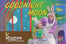 Goodnight Moon / JANUARY 23, 2015 - FEBRUARY 16, 2015 (All Ages) A return engagement for the little bunny who wants to put off going to sleep for as long as possible. Margaret Wise Brown's 65 year old book has entertained four generations of little ones. The pictures on the wall, the toys in their box, and the moon itself all become characters in this magical production. Be sure to read the book before seeing the play.