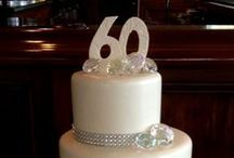 60th Anniversary Party Ideas / Almost time to celebrate mom and dad's 60th wedding anniversary. It seems like only yesterday that we celebrated their 50th anniversary. Here's to 10 more years of wedded bliss. 60th wedding anniversary decoration ideas for a diamond wedding anniversary party.
