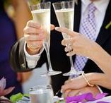 Wedding Toast Ideas / Ideas and inspiration for wedding toasts.