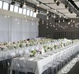 Industrial Wedding / Rugged meets feminine with Industrial wedding inspiration for venues, decorations, and favors. Old city warehouse district backgrounds highlighted by minimalist elements of concrete, steel, copper, and shades of gray create a contemporary theme full of interest and excitement for a city skyline wedding ceremony and reception