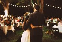 Backyard Wedding / Save money and still have a fabulous, intimate wedding ceremony and reception in your own back yard.