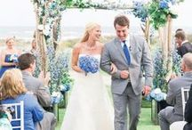 Wedding Colors - Pastel / Pastel wedding color palettes and real wedding images with pastel colors for wedding planning inspiration.