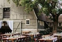 Country Wedding / Rustic barn, farm, field, and farmhouse wedding ideas for the modern country bride and groom.