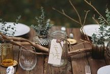 Tablescapes and reception set ups / by Kristy Kyi (Flights of Fancy by Kristy)