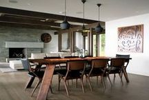 Dining and kitchen tables  with chairs