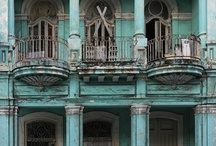 Balconies  / Beautiful sight to behold, just want to be there... / by Cecilia Moreno