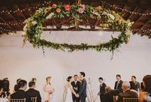 Ceremony set ups and backdrops