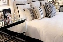Indoor decor - Modern Glam Bedrooms / by Tara A.