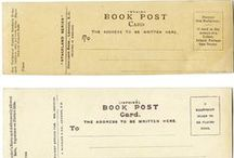 BOOK MARKS AND BOOK PLATES / noun 1. a ribbon or other marker placed between the pages of a book to mark a place. noun 1. a label bearing the owner's name and often a design, coat of arms, or the like, for pasting on the front end paper of a book.