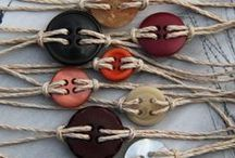 RECYCLAGE { Boutons }