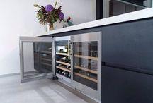 Gerealiseerd project in een Rotterdamse loft door Art Design keukens met een Italiaanse Comprex keuken.