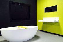 Very yellow project in Rotterdam. Cemento Tutti Colori, maatwerk mogelijk en in verschillende RAL kleuren verkrijgbaar. Art Design Wonen, Goudsesingel 103 Rotterdam.