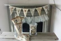 BUNTINGS, BANNERS, GARLANDS, HANGINGS
