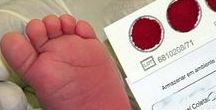 Newborn Screening / Please note not all states require newborn screening. But each state has a newborn screening lab that processes blood work from the heel prick, and can provide resources.