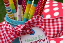 Back to School  / Great ideas for the Pre-K- 2nd  grade classroom.  / by Wendy Quattlebaum