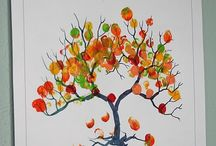 Fall Crafts for Kids and Me / Fall season crafts including Thanksgiving