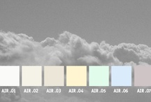 YOLO Colorhouse AIR color family / YOLO Colorhouse AIR color family notes: • freedom and space • fresh breeze • barely-there hues • airy vapor • ceilings and trim / by Colorhouse Paint