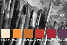 YOLO Colorhouse CREATE color family / YOLO Colorhouse CREATE color family notes: • action colors • lively • crowd magnets • bold accents • dining rooms, kitchens and family rooms  / by Colorhouse Paint