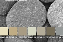 YOLO Colorhouse STONE color family / YOLO Colorhouse STONE color family notes: • neutral and natural • easy transitional hues • zen-like simplicity • elegant backdrops for collections • sumptuous anchors / by Colorhouse Paint