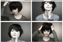 Girls with short hair have more fun! / Haircuts