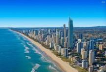 Gold Coast, Queensland / A surfer's paradise, the Gold Coast not only has the perfect waves but also boasts award-winning restaurants, designer shops and world-class golf courses. / by Australia
