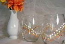 Painted Wineglass Inspirations