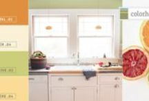 Color Stories: Citrus Palette / As refreshing as sipping a cocktail on a screen porch: the Citrus Palette.  Light and clear, AIR .04 and ASPIRE .04 are the sunny warmth in this palette, while PETAL .01 and THRIVE .02 punch it up with the bright hues summer is known for.