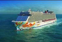 My Dream Cruise on Norwegian / is to travel the world on Norwegian