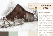 Rustic Modern Palette / In the present with ties to the past.  Worn materials bring a story to our crisp, contemporary living spaces.  The warm whites of AIR .01 and AIR .03 complement but don't compete with reclaimed barn wood walls, a farmhouse kitchen sink, or repurposed ceramic tiles.  Bring subdued color to this natural palette with the richness of NOURISH .05 and coolness of WATER .02. / by Colorhouse Paint