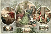 WBTS ~ Christmas / Depictions of Christmas during the WBTS in the 19th century and modern illustrations / by Catherine Bennett