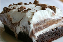 "Sweets / These are recipes for desserts and sweet snacks that I would like to try.  It's a sub-category of ""Recipes to Try"" so that I can find things more easily! / by Dina McDonald"