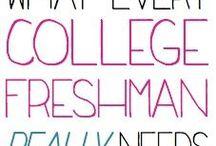 College stuff / by Kathleen Castellanos