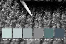 YOLO Colorhouse WOOL Color Family / Part of the Handcrafter Color Collection,  the WOOL color family is a group of soft, grey blues that reflect the depth of hand-dyed yarn, perfect for creating relaxed interiors. / by Colorhouse Paint