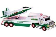 Evan's Hess Toy truck Collection / Tucks his Daddy started buying him for Christmas since he was born in 2008.