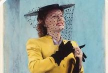 Vintage 1940s / Lovely 40s fashion and decor