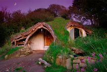 Strawbale/Cob houses