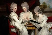 Circa 1760 ~ 1799 / Fashion & culture ~ extant and inspiration ~ for the Rococo, early Neoclassical Period / by Catherine Bennett