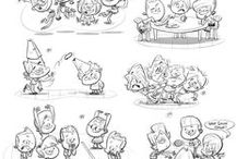 Character Design / I love character design. These are some of my top picks. Visit my website to see some of my characters. macksdesigns.wordpress.com/