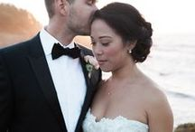 Mendocino Brides / Bridal Hair Styled by the M Salon Team various photographers  Northern California Weddings