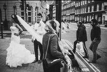 London Wedding Photography / Amazing London wedding photography set in the grand, vast, vibrant lights of England's capital