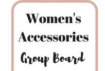 Women's Accessories / Please pin ONLY accessories (i.e.: jewelry). We have another board for bags. Pins unrelated to the theme will be deleted without warning. For every pin that you leave, please share one. To be added to the group, please: 1) FOLLOW ME: https://www.pinterest.com/mypassivepay 2) FOLLOW this Board 3) Comment on any of the recent pins below leaving your email address to join. By leaving your email, you consent to be subscribed to my mailing list. You can opt out any time. Happy Pinning!