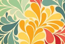 Fabric and Pattern Inspiration / Repeating patterns for fabrics, wallpaper, gift wrap, and more.