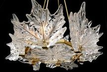 Art ~ Renee Lailque / Rene Lalique, who died in 1945 is famous for beautiful glass which he made from the 1890's to 1940. Rene Lalique glass production was quite extensive.  Laliques perfected use of opalescent glass, which resembles diamonds and opals, was used to create figurines, plates, bowls, vases, chandeliers, and car mascots. 
